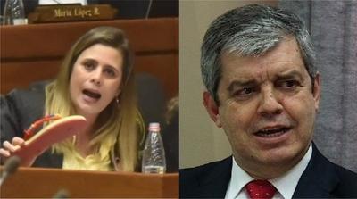 Enrique Riera le respondió a Kattya González