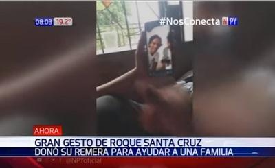 """Roque Santacruz sorprende a """"Maravilla CCP"""""""