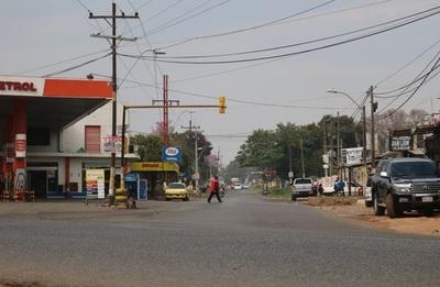 Avanzan labores para mejorar la avenida De La Victoria, en San Lorenzo