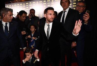 Lionel Messi, ganador del Balón de Oro 2019