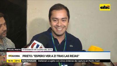"""Prieto: """"Espero ver a ZI tras las rejas"""""""