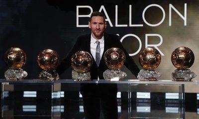 """""""La pulga"""" conquista el Balón de Oro 2019"""