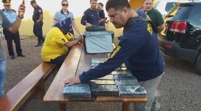 HOY / PJC: circulaba con 35 kilos de cocaína en el vehículo y fue detenido en barrera policial