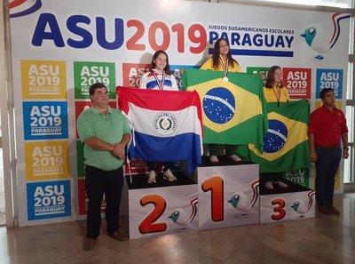 Paraguay conquista sus dos primeras medallas en los Juegos Escolares