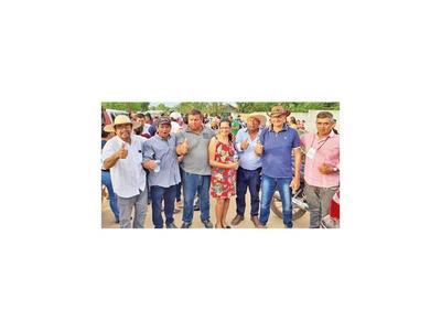 Prometen trabajo transparente en San Carlos del Apa