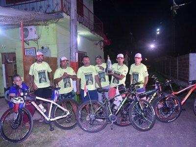Desde Buenos Aires hasta Caacupé en bicicleta para visitar a la Virgen