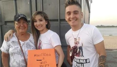 Marilina y Will ya recaudan fondos para cuando vayan al telefónico del Baila