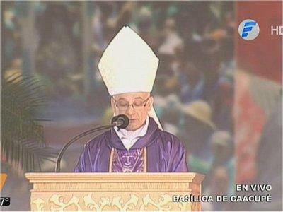 """Obispo afirma que la Justicia ineficaz """"es instrumento de corrupción"""""""