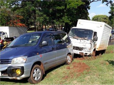 Mujer fallece en accidente de tránsito en Ciudad del Este