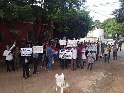 Pobladores de Arroyito piden rápida imputación del intendente