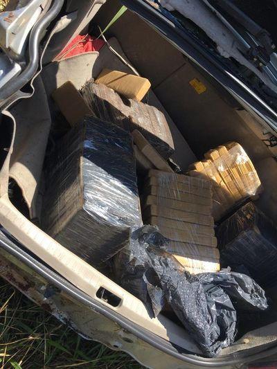 Policía fallecido en Canindeyú transportaba 435 kilos de marihuana