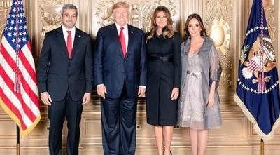 Donald Trump recibirá a Mario Abdo en Washington