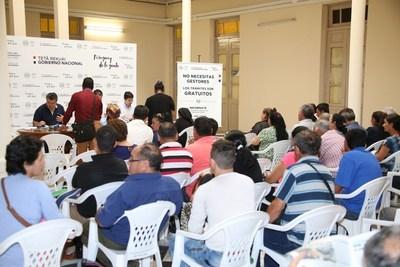 Este viernes cobrará indemnización nuevo grupo de Víctimas de la Dictadura