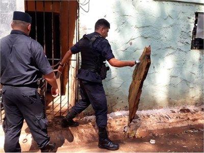 Detenido intenta quemar colchón en calabozo de la Policía en Alto Paraná