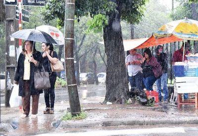 Miércoles inestable y lluvioso, prevé Meteorología