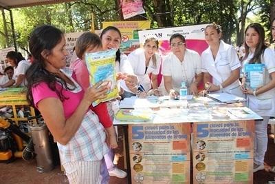 Ministerio de Salud provee más de 5.500 kilos de leche enriquecida en el Chaco