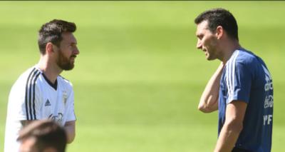 HOY / Scaloni espera que la Copa América de 2020 no sea la última de Messi