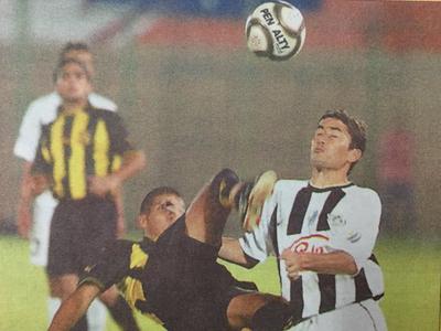 Libertad y Guaraní se vieron la cara en el Apertura 2003