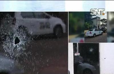 Atacan a tiros la oficina de un estudio contable en San Lorenzo