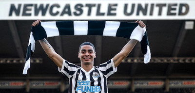 """Un año de Miggy en el Newcastle: """"Estoy ansioso por llegar al gol"""""""