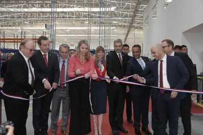 Inauguración nueva planta industrial de autopartes Kromberg & Schubert Paraguay