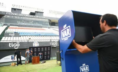 HOY / Diez cámaras más para el estreno del VAR en la Copa Paraguay