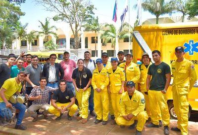 Bomberos voluntarios de Villarrica exigen cumplimiento de promesas