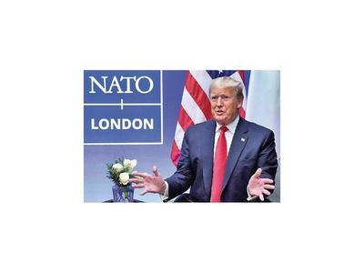 Turbulenta Cumbre de OTAN con Trump como protagonista