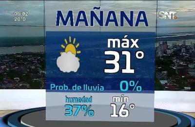 Pronóstico del tiempo extendido en La Mañana de cada Día