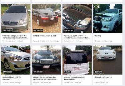 Policía alerta sobre falsas ofertas de vehículos en redes sociales