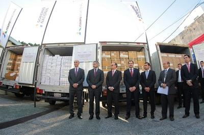 Itaipú dona medicamentos para reabastecer hospitales públicos