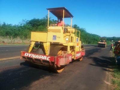En plena ejecución asfaltado que beneficiará a 60.000 productores en San Pedro