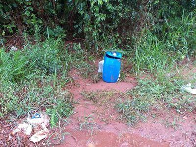 Cuerpo hallado en un tambor en Brasil es del menor que estaba desaparecido en Pedro Juan