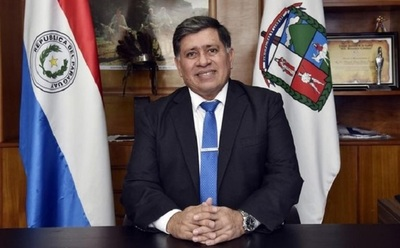 Detienen al intendente de Lambaré, Armando Gómez