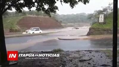 UN CIRCUITO COMERCIAL INUNDADO SIN RESPUESTA DE LAS AUTORIDADES
