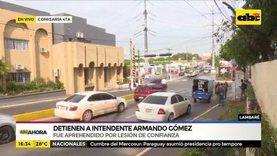 Detienen a Armando Gómez