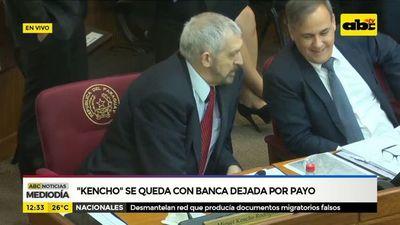 Kencho se queda con banca dejada por Payo