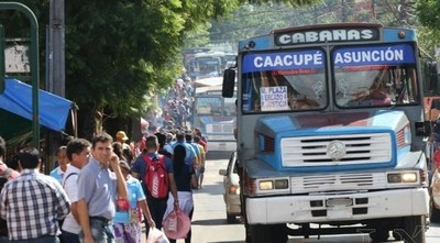 Caacupé: Desde este viernes liberan horario de buses