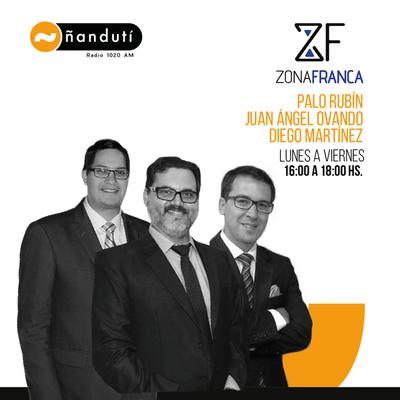Zona Franca con Palo Rubin, Juan Ángel Ovando y Diego Martínez