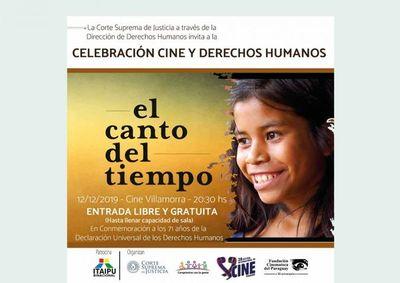 Cine debate para conmemorar el Día Internacional de los DDHH