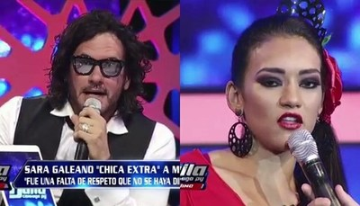 """Tenso careo entre Cimarro y """"La Chica Extra"""""""