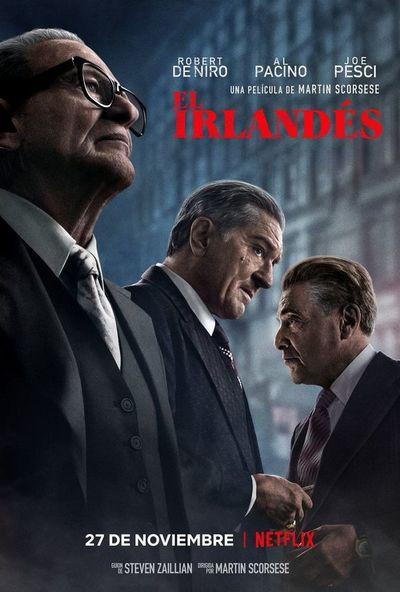 """""""El irlándes"""", el ocaso de un gángster narrado por Martin Scorsese"""