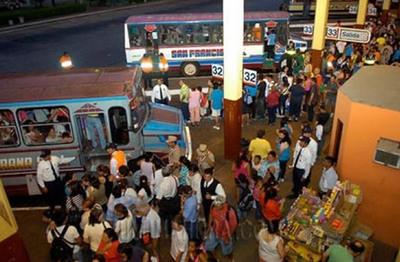 Desde hoy liberan horario de buses para Caacupé