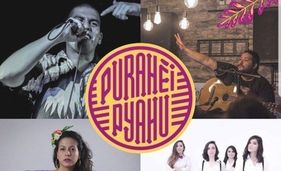 "HOY / Artistas paraguayos participan del concierto ""Purahéi Pyahu"" en Asunción"