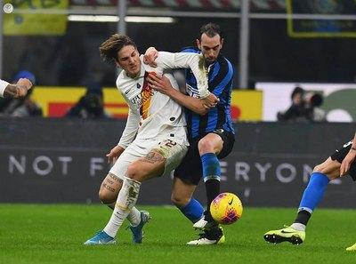 Inter igualó ante la Roma y deja camino libre a la Juve