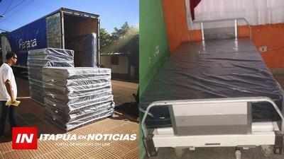 INICIAN INVERSIONES LUEGO DE LA COMILONA A FAVOR DEL HOSPITAL DE CNEL. BOGADO