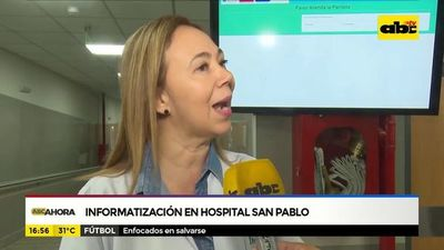 Informatización en hospital San Pablo