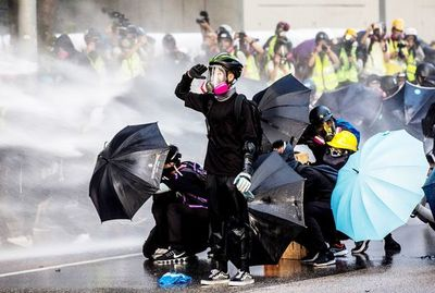 Sacrificios de la larga lucha en Hong Kong