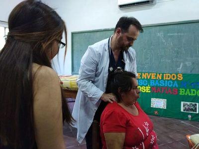 Brindaron asistencia médica a pobladores de Guazú Cuá