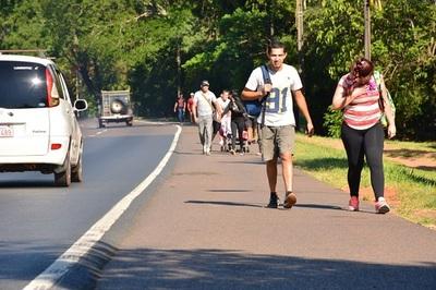 Caminera informa sobre desvíos para asegurar a peregrinos en Caacupé